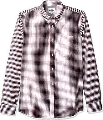 Ben Sherman Mens End-On-End Button Up Shirt