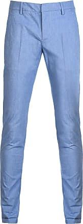 Dondup Fashion Man DONPANUNAC2ST045411221 Light Blue Cotton Pants | Season Outlet