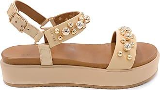 Inuovo Womens Sandal 112027 Beige Beige Beige Size: 5 UK