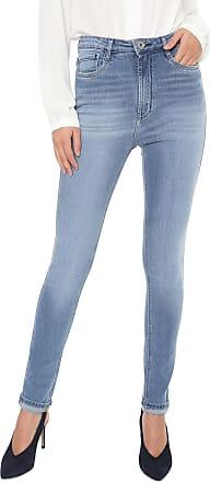 Enna Calça Jeans Enna Skinny Barra Italiana Azul
