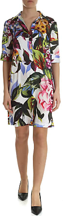 Blugirl Floral printed satin dress