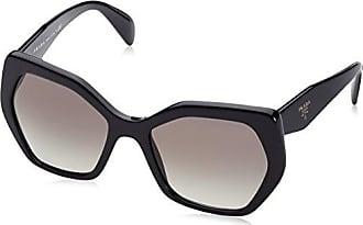 948c4c50d32fb6 Prada Damen 0PR16RS 1AB0A7 56 Sonnenbrille, Schwarz (Black/Grey)