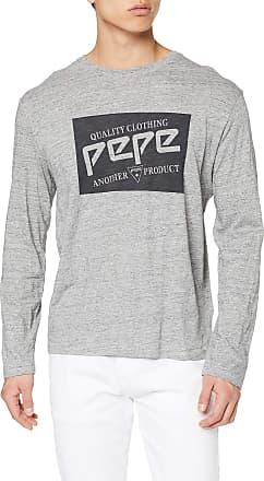 Pepe Jeans London Mens Jacob T-Shirt, (Grey Marl 933), Medium
