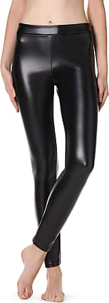 CALZEDONIA Womens Snake Leather-Effect Leggings