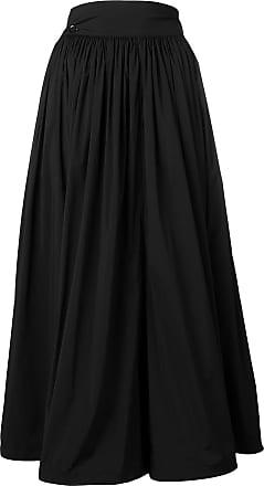 Yohji Yamamoto high-waist midi skirt - Black