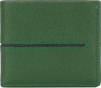 Tod's Carteira Stripe dobrável - Verde