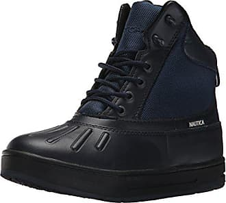 Nautica Mens New Bedford Ankle Boot, Peacoat Blue Smooth, 11 M US