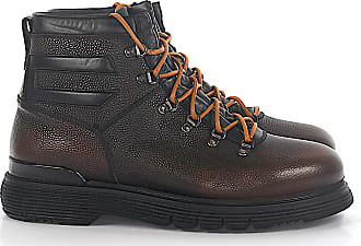 Budapester Boots CHICCO RISO leather brown grain