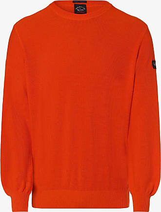 Paul & Shark Herren Pullover orange