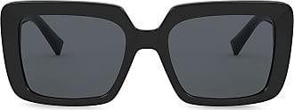 Versace Óculos de sol oversized - Preto