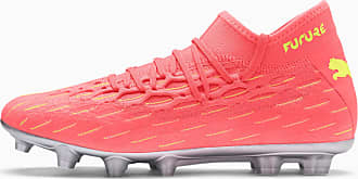 Puma Future 5.2 NetFit Hg Mens Football Boots, Peach/Fizzy Yellow, size 10.5, Shoes