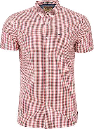 Tokyo Laundry Lorente Short Sleeve Gingham Shirt in Rio Red M