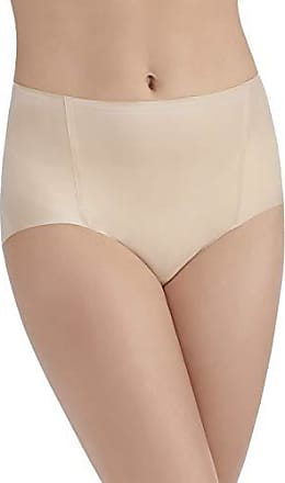 Vanity Fair Womens Underwear Nearly Invisible Panty, Damask Neutral - Brief, Small/5