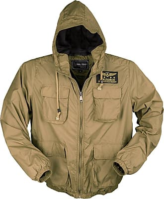 Mil-Tec Mens Air Force Jacket Coyote size M