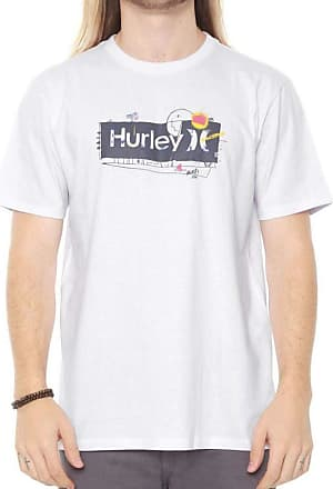 Hurley Camiseta Hurley Silk Punked And Only Branca