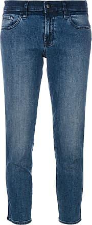 J Brand Calça jeans cropped - Azul