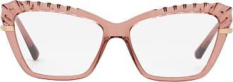 Dolce & Gabbana Eyewear Armação de Óculos Gatinho Rosa - Mulher - Único IT