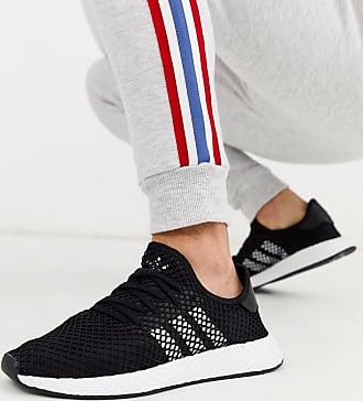 adidas Originals Deerupt - Schwarze Lauf-Sneaker