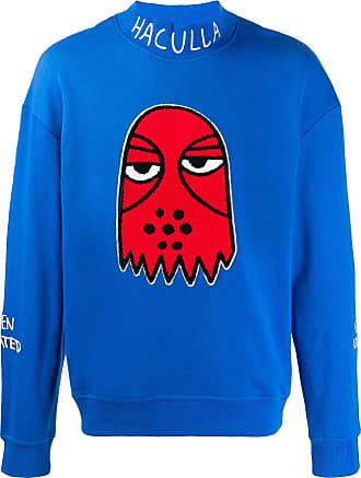 Haculla embroidered sweatshirt - Blue