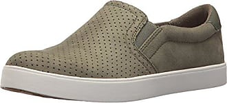 Dr. Scholls Womens Madison Sneaker, Willow Microfiber Perforated, 7.5 M US