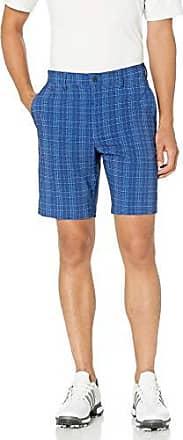 PGA TOUR Short court à carreaux pour hommes, modèle ton sur ton, taille 42, entrejambe de 9 pouces