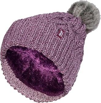 Heat Holders 1 Ladies Genuine Heatweaver Thermal Winter Warm HAT 5 Variations - Alesund, Nora, Solna, Areden, Lund (Rose - SOLNA)