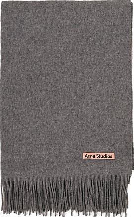 Acne Studios Woll-Schal Canada Grau