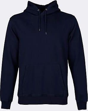 Colorful Standard Navy Blue Classic Organic Hood - XXL / AZUL / UNISEX