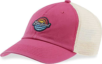 03b1175510de7 Life is good Sun Sea LIG Patch Soft Mesh Back Cap OS Pop Pink