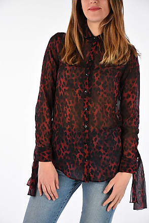 914f9a8b5bef28 Saint Laurent® Long Sleeve Blouses − Sale: up to −70% | Stylight