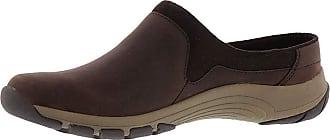 Easy Spirit Womens Cedar Closed Toe Mules, Chocolate, Size 7.5 US / 5.5 UK US