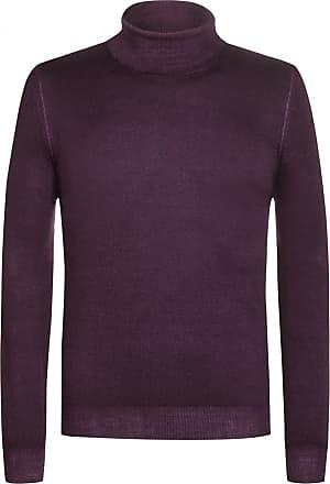Gran Sasso Rollkragen-Pullover (Violett) - Herren