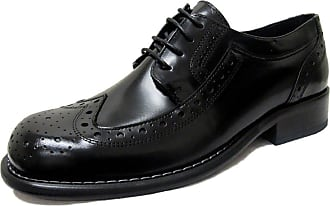 Ikon Original Mens Kromby Leather Mod Northern Soul Shoe Black 11 UK/45 EU