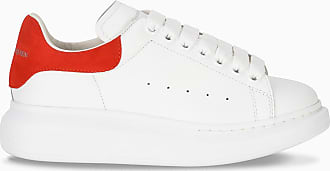 Alexander McQueen Sneaker da donna Oversize bianca e rossa