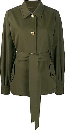 Escada tie-waist jacket - Verde