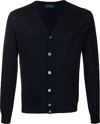 Zanone v-neck cardigan - Blue