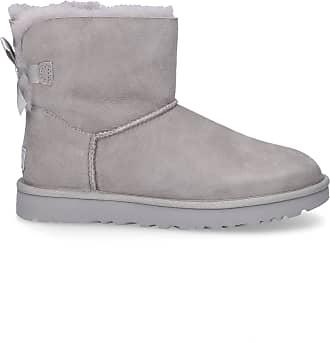 UGG Ankle Boots Grey MINI BAILEY BOW II