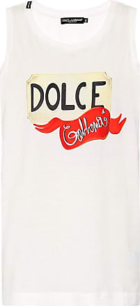Dolce & Gabbana Logo cotton tank top