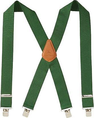 John Deere Mens 2 Logger Style Suspender,John Deere Green,One Size