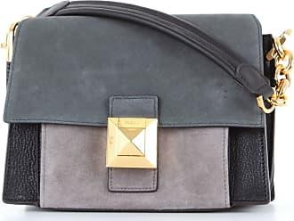 Furla Shoulder Bags Black and oil