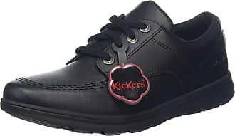 Kickers Unisex Adults Kelland - Lace Lo Loafers, (Black Blk), 8 (42 EU)