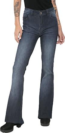 Ellus Calça Jeans Ellus Flare Lake Azul
