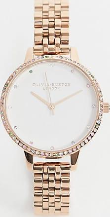 Olivia Burton OB16RB21 Rainbow bracelet watch in gold