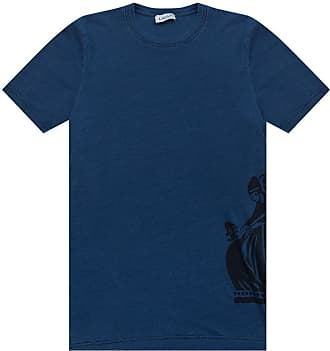 Lanvin Logo T-shirt Mens Navy Blue