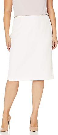 Kasper Womens Plus-Size Stretch Crepe Column Skirt