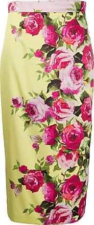Blumarine Saia lápis floral - Rosa