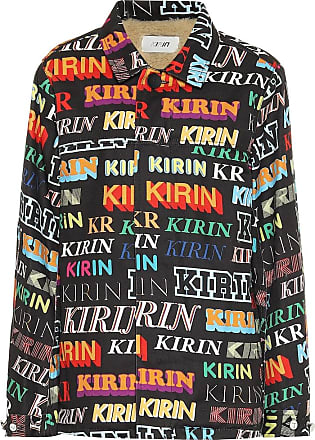 Kirin Logo denim jacket