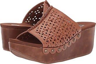 Yellow Box Babee (Tan) Womens Wedge Shoes