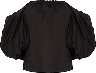 Johanna Ortiz Blusa Our Secret ombro a ombro - Preto