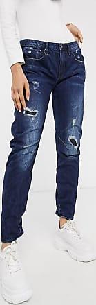 G-Star Arc 3d - Tief sitzende Boyfriend-Jeans-Blau